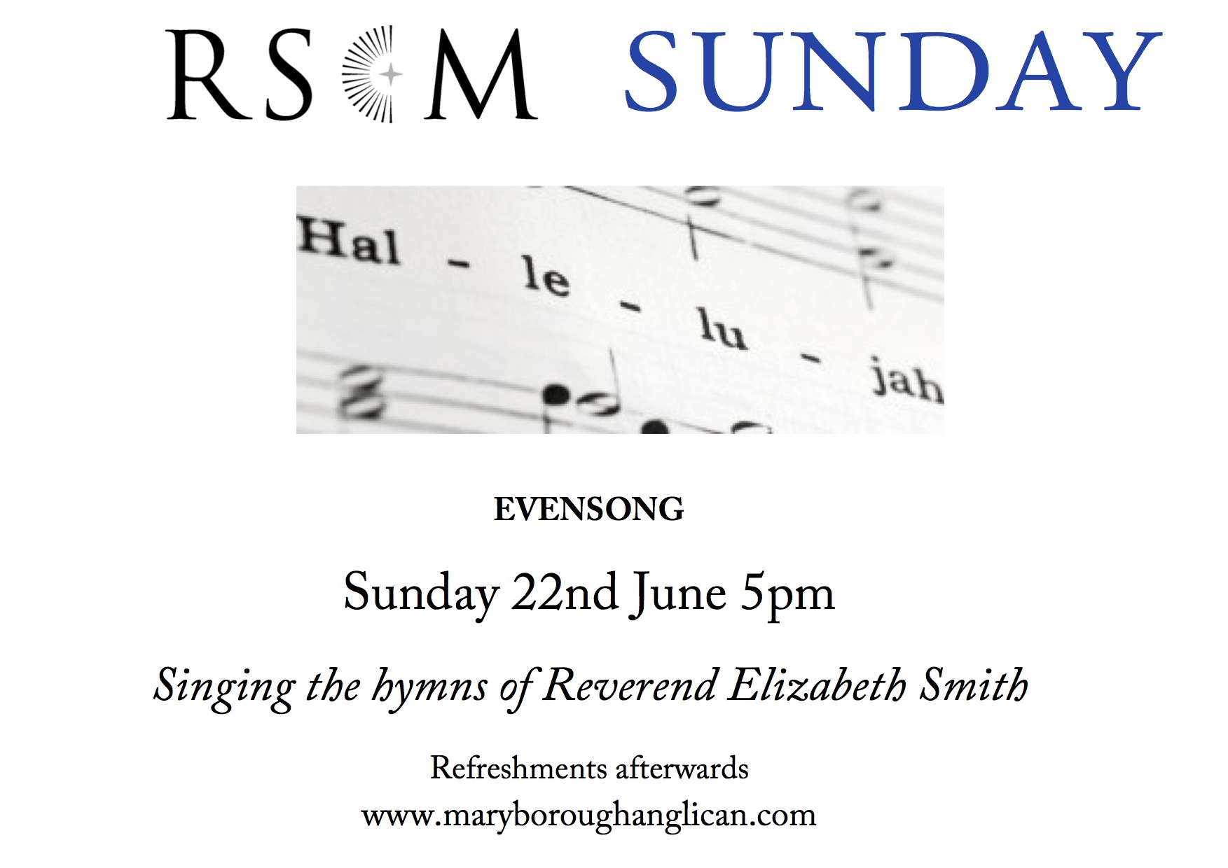 RSCM Sunday Evensong