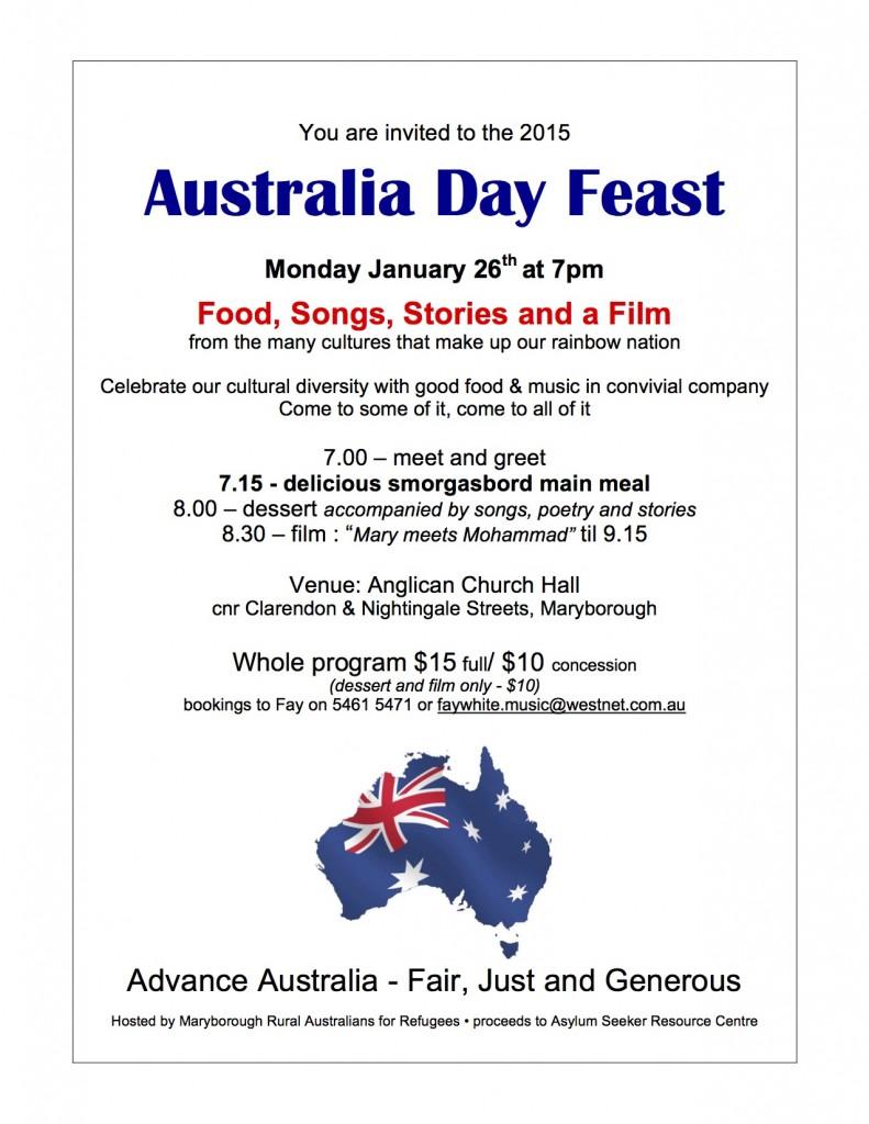 RAR Aust Day 2015