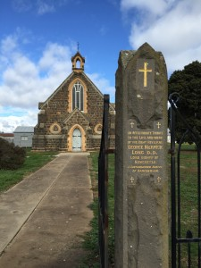 St Paul's Carisbrook Gates in memory of Bishop Long