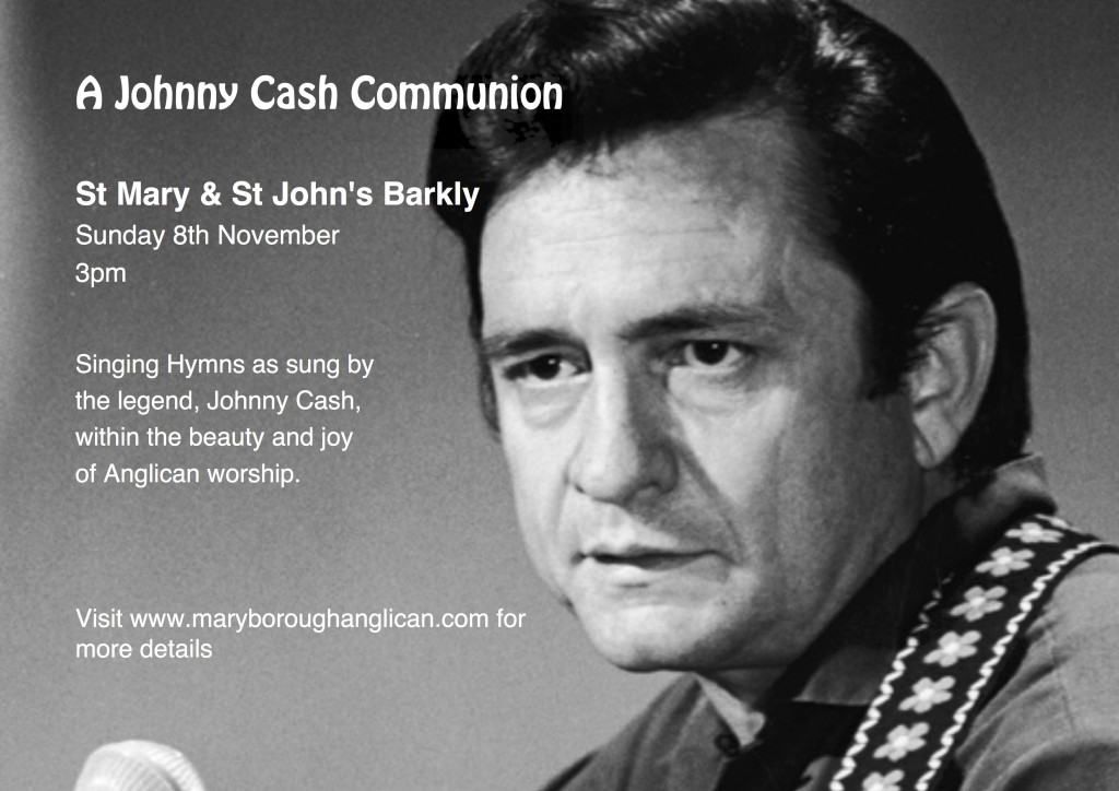 Johnny Cash Communion A4